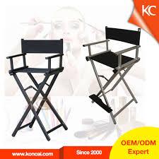 professional makeup artist tall folding chair aluminium mugeek