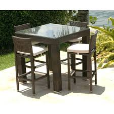 high table patio set patio bar table large size of patio outdoor bar height patio