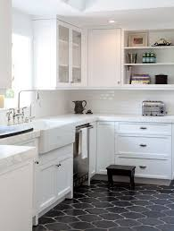 kitchen floor ideas with white cabinets white kitchen floor ideas kitchen and decor
