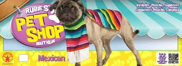 amazon com rubie u0027s pet costume small mexican serape pet supplies