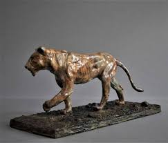 lioness statue saatchi lioness limited edition of 12 sculpture by adrian