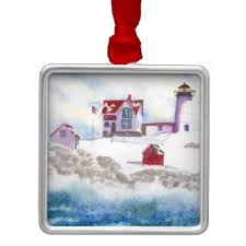 maine lighthouse ornaments keepsake ornaments zazzle