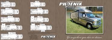 Class B Motorhome Floor Plans by Phoenix Cruiser 4 4 Option On All Models U2013 Vogel Talks Rving