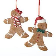 gingerbread ornaments ebay