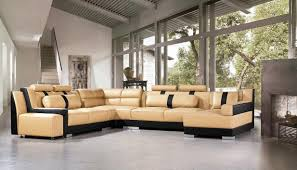 Sectional Sofa Sets Tosh Furniture Miami Contemporary Leather Sectional Sofa Set