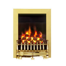 blenheim class 1 full depth gas fire 0594151 brass finish