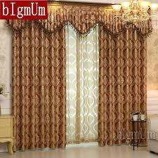 cenefas de tela para cortinas ventana de lujo cortinas cenefa para sala dormitorios jacquard