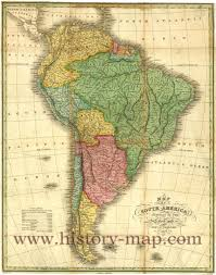 The Map Of South America by America Map