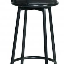 furniture dark black swivel bar stools
