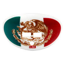 Picture Of Mexican Flag Loudmouthguards Mexican Flag Lip Protector Mouthguard