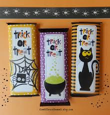 it u0027s written on the wall wrap your halloween candy with fun 6