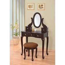 Makeup Vanity Jewelry Armoire Bedroom Vanity Espresso