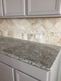 light gray kitchen cabinets with granite kitchen decorating ideas themes travertine backsplash