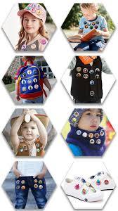 novelty 9pcss fireman sam cartoon 30mm diameter mini buttons pins