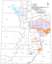 Map Utah Oil Sands Tar Sands U2013 Utah Geological Survey