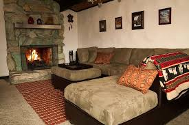Big Sectional Sofas by Living Room With Large Sectional Sofa And Stone Fireplace Yelp