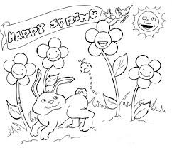 free spring coloring pages fablesfromthefriends com
