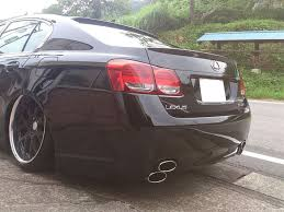 lexus gs 350 vietnam lexus gs350 trunk deck lip spoiler oe type gs300 gs430 gs460 2006