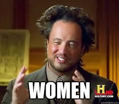 Women Memes - women history channel guy quickmeme