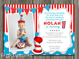 dr seuss birthday invitations dr seuss 1st birthday invitation template free