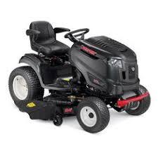shop troy bilt xp horse xp hydrostatic 46 in riding lawn mower