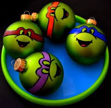 tmnt turtles painted ornament i need to make these this year