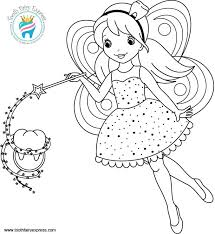 coloring u2013 02 u2013 tooth fairy express dental hygiene kids