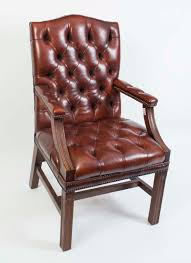 Red Leather Office Chair Leather Desk Chair English Hand Made Leather Captains Desk Chair