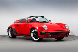 red porsche convertible wallpaper porsche 1989 911 carrera speedster turbolook convertible