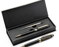 engraved office gifts personalized pens etsy