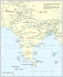 Southern And Eastern Asia Map by Islam In South Asia Wikipedia