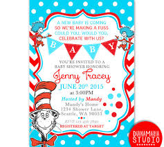 dr seuss baby shower invites custom invitation template design