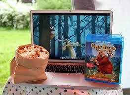 backyard movie night with s u0027mores popcorn make and takes
