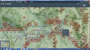 Stalingrad On Map Cutting Off All Soviet Units From Stalingrad To The Urals