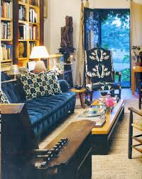 blue velvet sofa dreaming