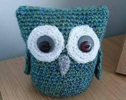 crochet owl etsy