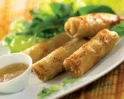 hervé cuisine chinois recette nems aux crevettes et au crabe