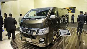 nissan urvan modification tokyo 2011 nissan nv350 caravan live photos autoevolution