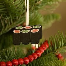 sushi letterpress ornaments chandler o leary