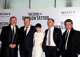david fincher and rooney mara photos photos the with the