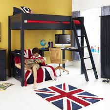 Bedroom Ideas With Futons High Bed With Futon Roselawnlutheran