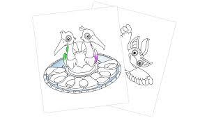 singing monsters coloring book update 1 1 1 u2013 big blue bubble