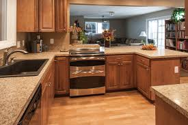 Laminate Flooring Kitchen Birch Kitchen Cabinets Laminate Flooring Stainless Steel