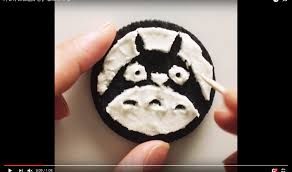 10 30 by Artist Carves Cute Studio Ghibli Characters Into Oreo Cookie