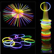 glow bracelets 2017 christmas party concert supplies fluorescent bracelets glow