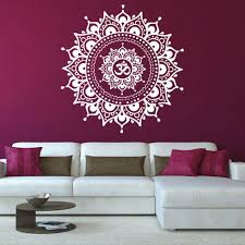Wall Decals Mandala Ornament Indian by Online Shop Mandala Flower Indian Wall Stickers Home Decor Living