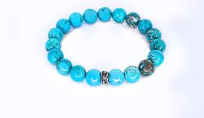 turquoise bead bracelet images Men 39 s turquoise beaded bracelet jpg