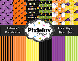 Halloween Printable Paper by The290ss October 2012