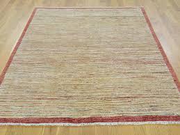 Multicolored Rug Buy 5 U0027x6 U0027 Hand Knotted Pure Wool Gabbeh Peshawar Multicolored Rug