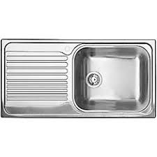 stainless steel sinks with drainboard canada single bowl left hand drainboard topmount stainless steel kitchen